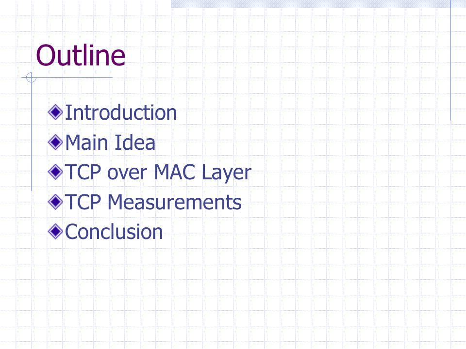 TCP Measurements(1/3) Unfairness/capture behavior observed TCP does include the disconnect feature