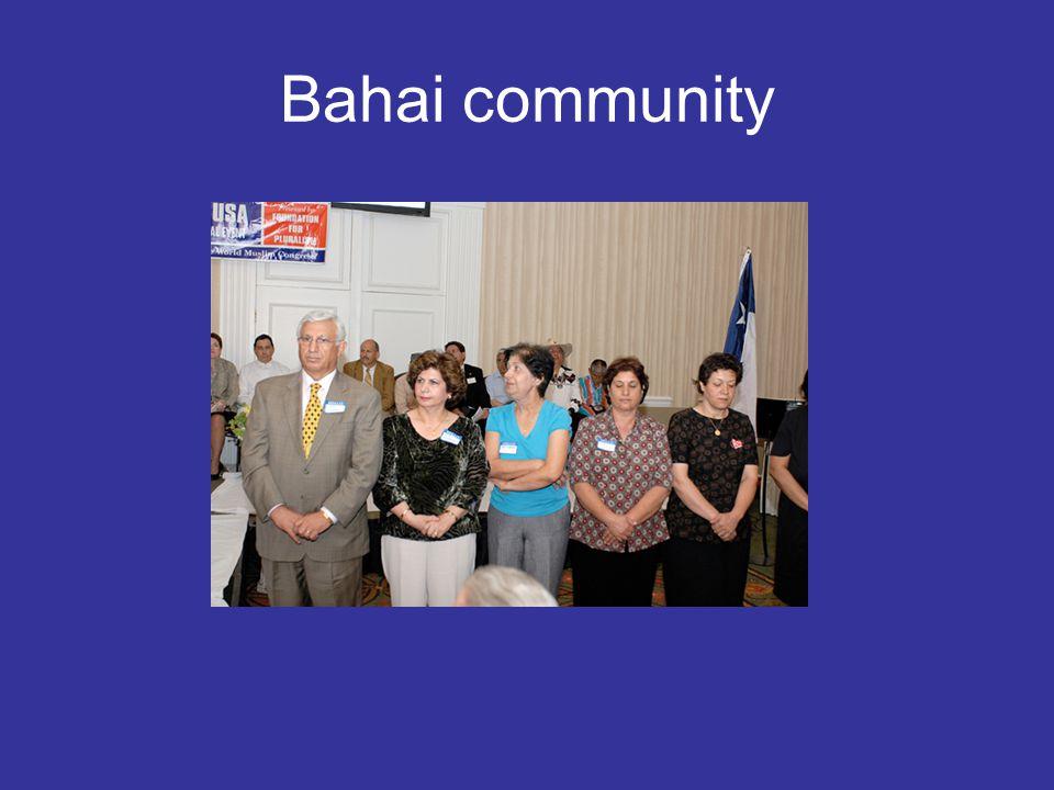 Bahai community