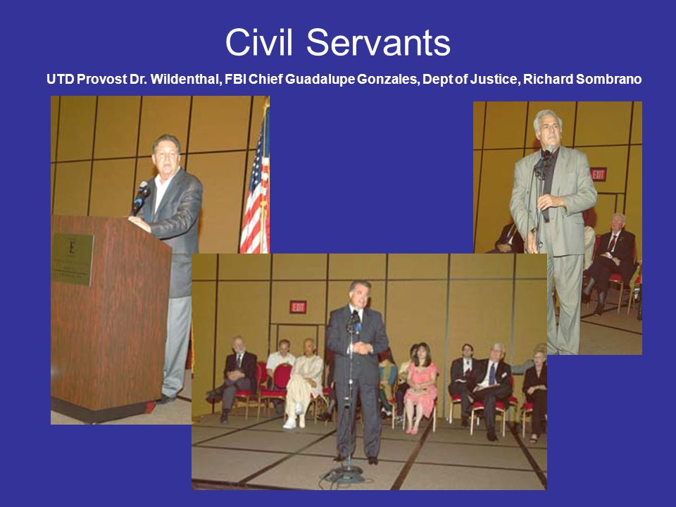 Civil Servants UTD Provost Dr.