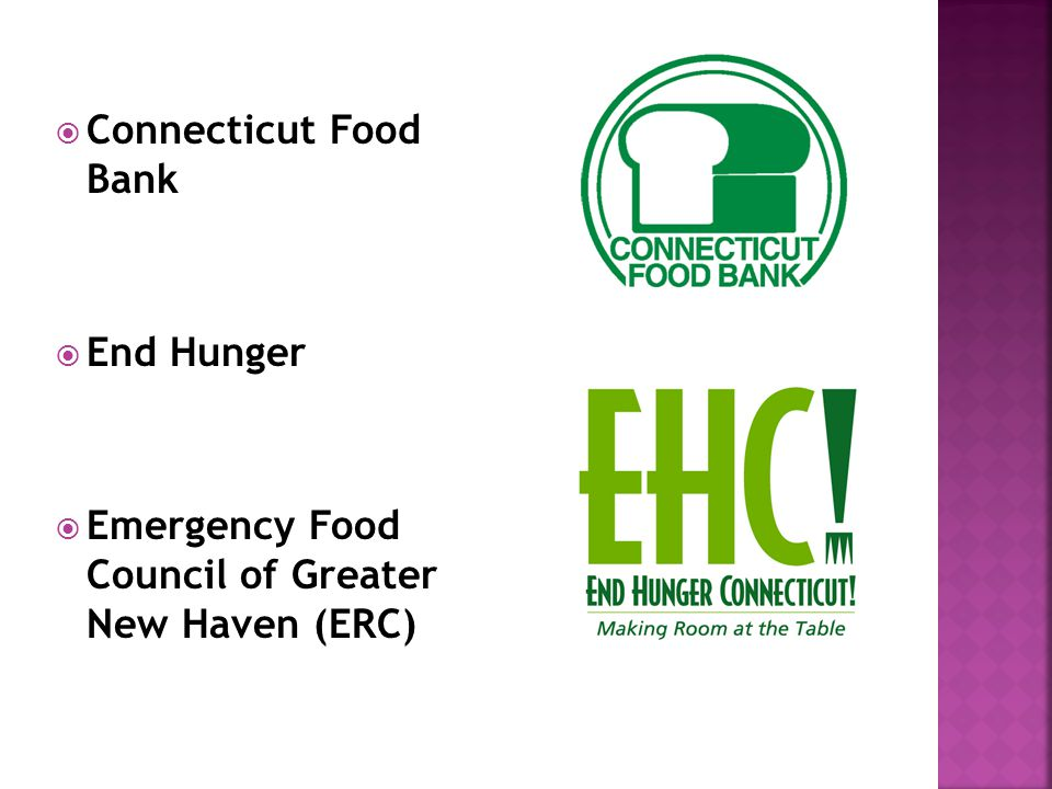  Connecticut Food Bank  End Hunger  Emergency Food Council of Greater New Haven (ERC)