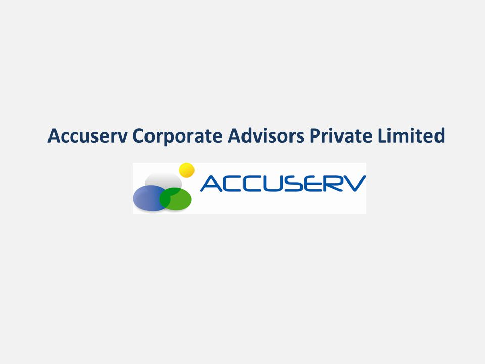 Accuserv Corporate Advisors Private Limited