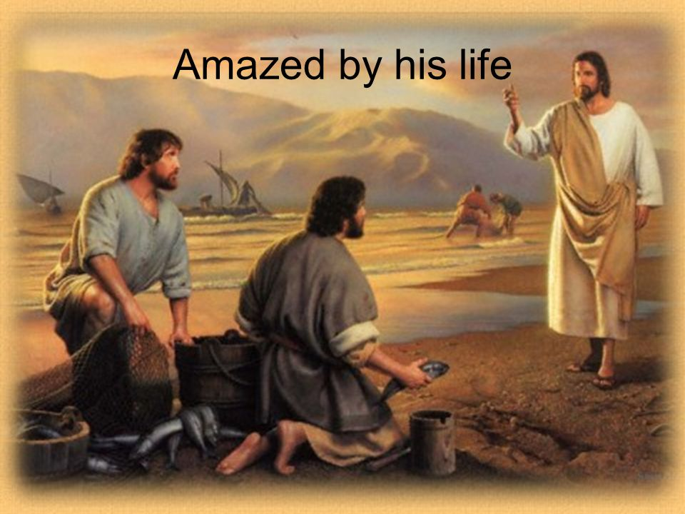 Amazed by His Death