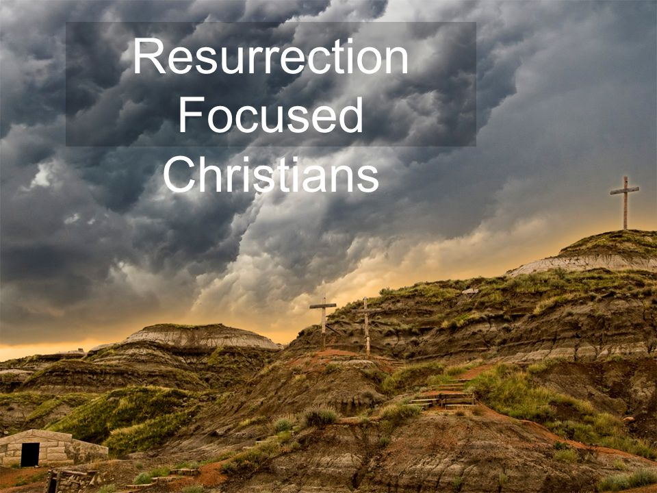 What is this resurrection power in the present.It's the power to witness.