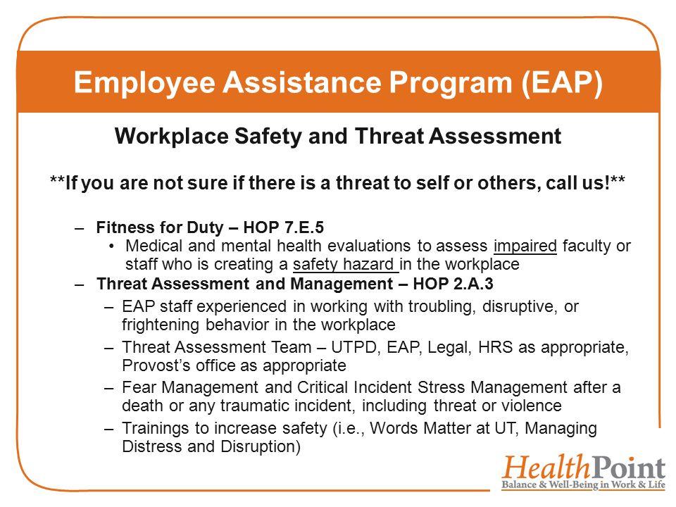employee assistance program eap essay