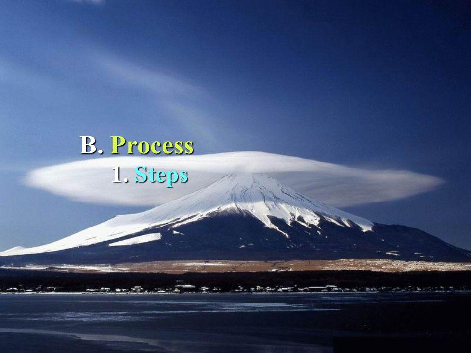 1. 1. Steps B. Process