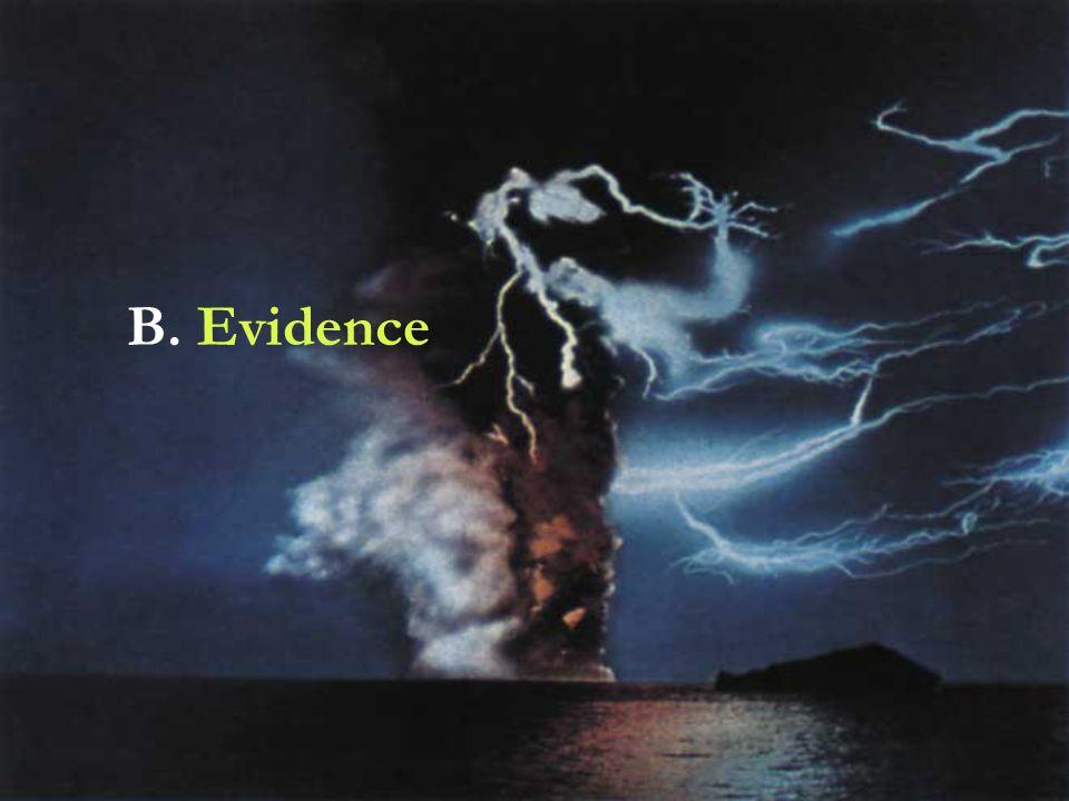 B. Evidence