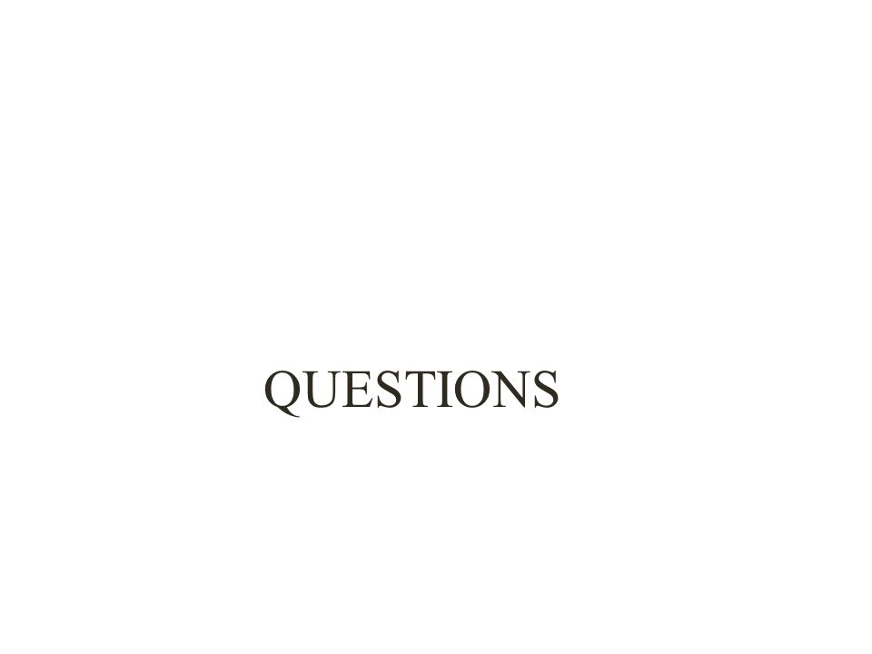 QUESTIONS 8