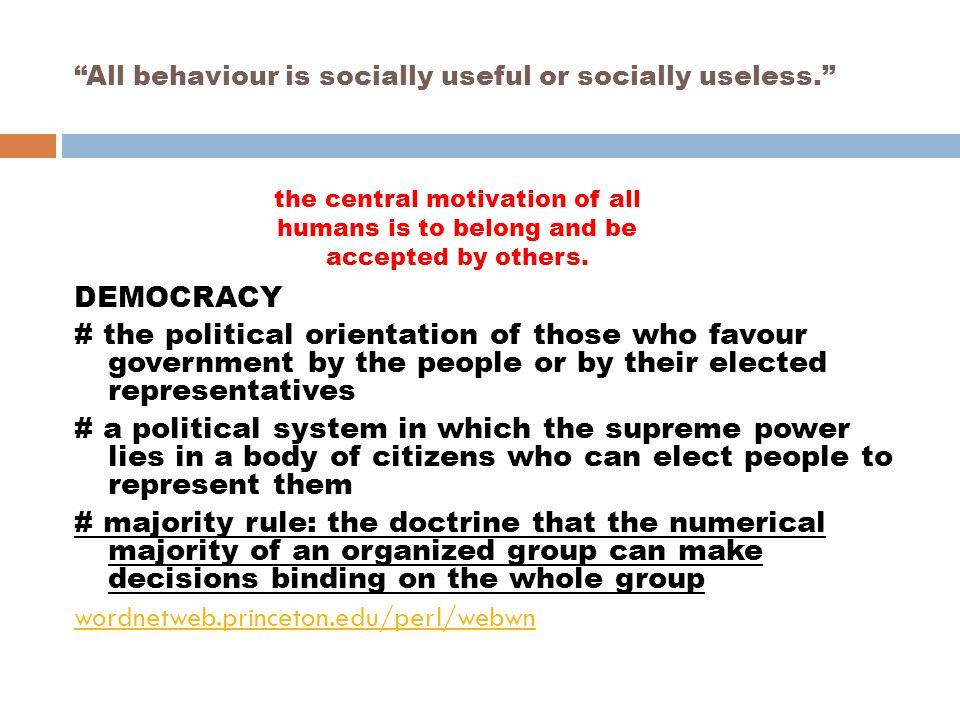 THE DEMOCRATIC DISCIPLINE MODEL.Rudolph Dreikurs.