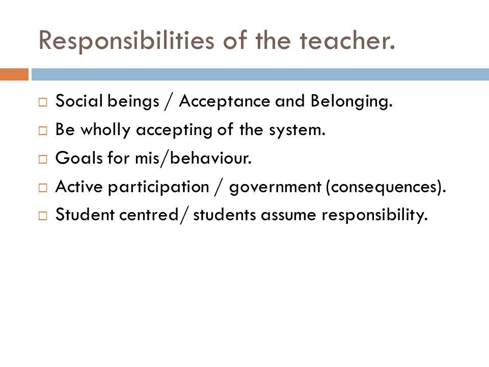 4 KEY CONCEPTS  Democratic Teaching  Democratic vs Autocratic  Encouragement  Effort vs Achievement