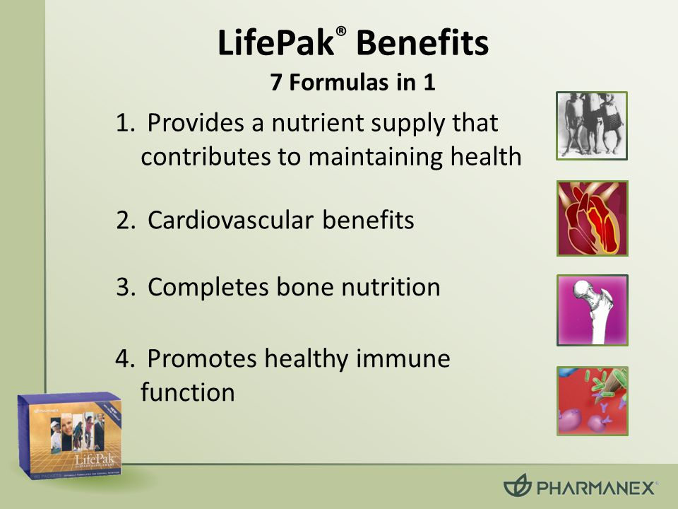 3. Completes bone nutrition 4. Promotes healthy immune function 2. Cardiovascular benefits 1. Provides a nutrient supply that contributes to maintaini