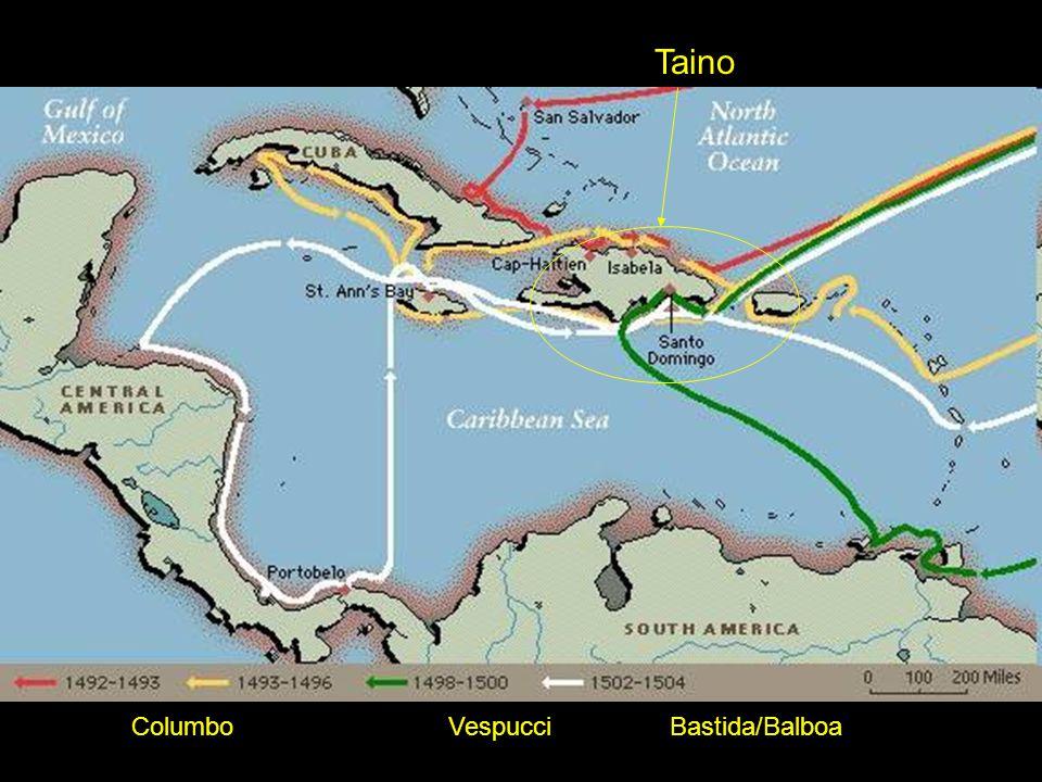 Taino Bastida/BalboaVespucciColumbo