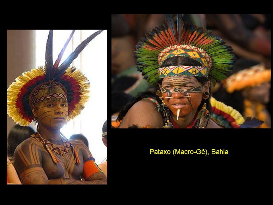 Pataxo (Macro-Gê), Bahia