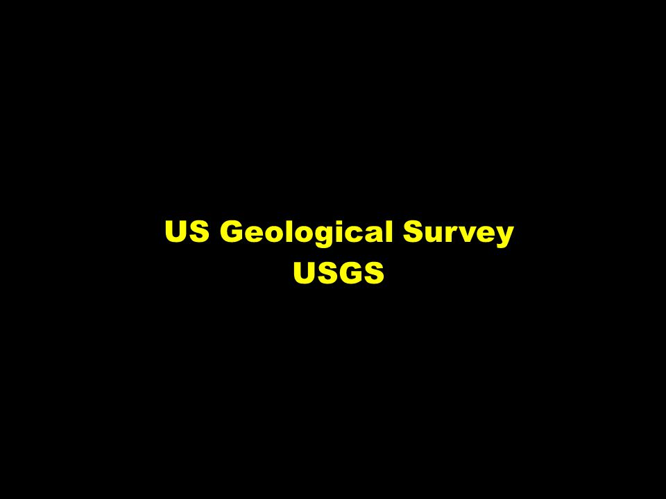 US Geological Survey USGS