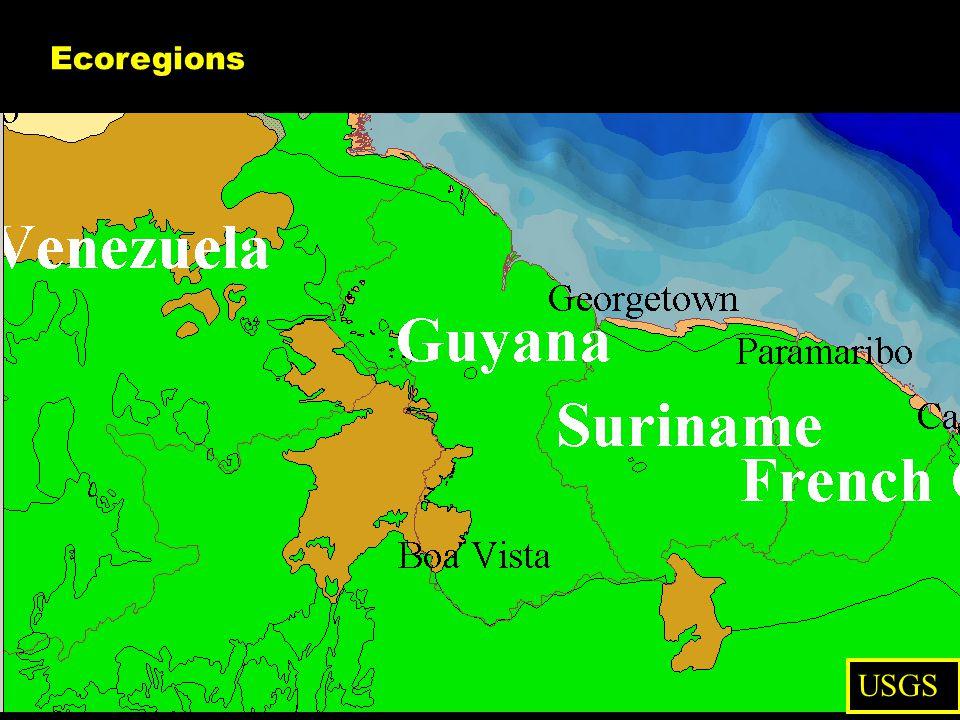 Ecoregions USGS