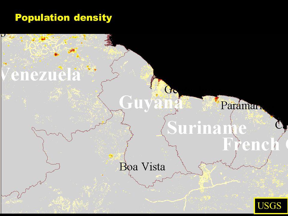 Population density USGS