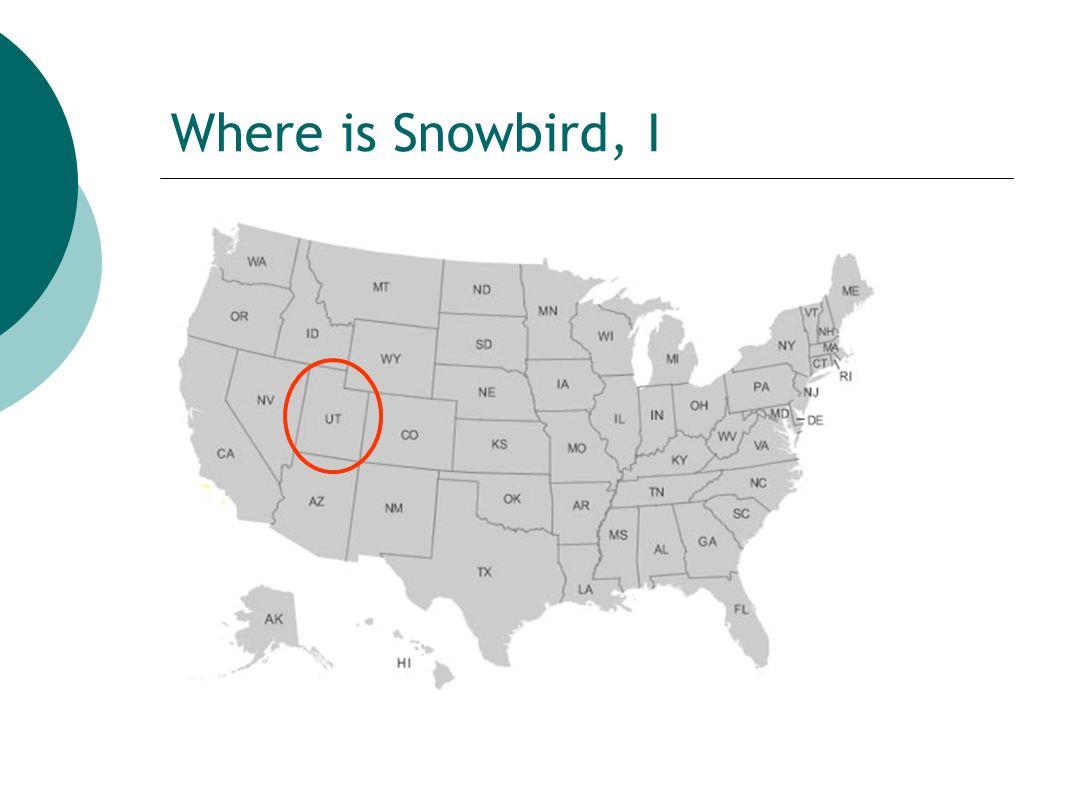 Where is Snowbird, II