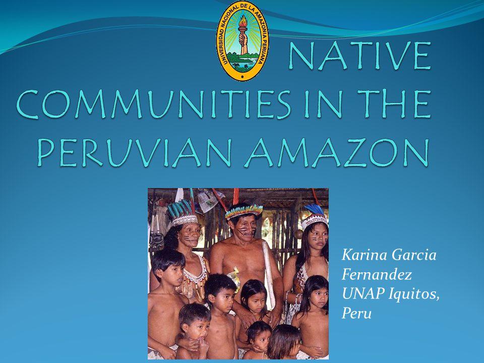 Native Communities in the Amazon