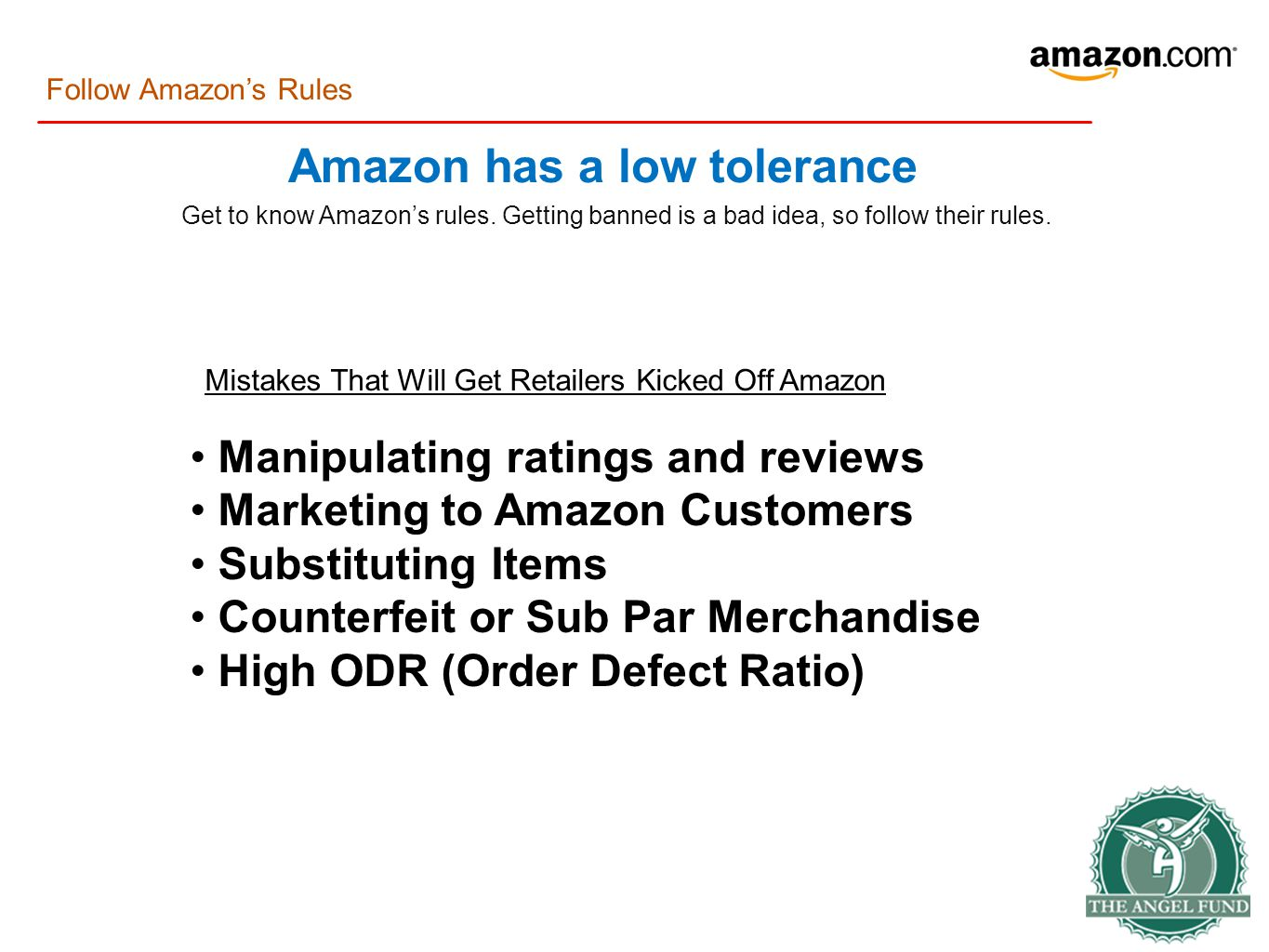 Get to know Amazon's rules. Getting banned is a bad idea, so follow their rules.
