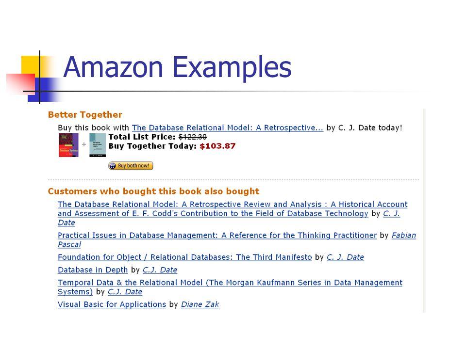Amazon Examples