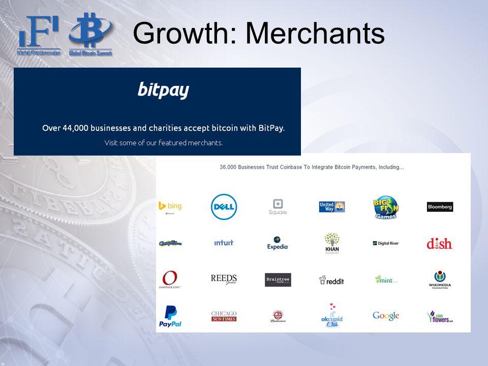 Growth: Merchants