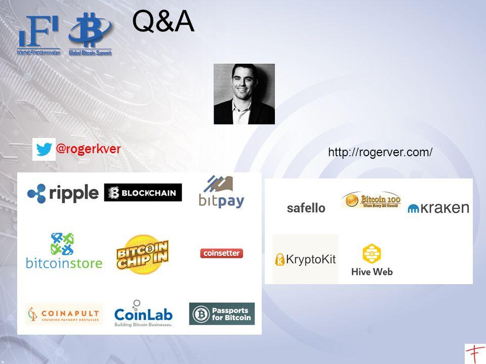 Q&A @rogerkver http://rogerver.com/