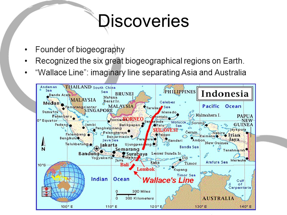 Discoveries Founder of biogeography Recognized the six great biogeographical regions on Earth.