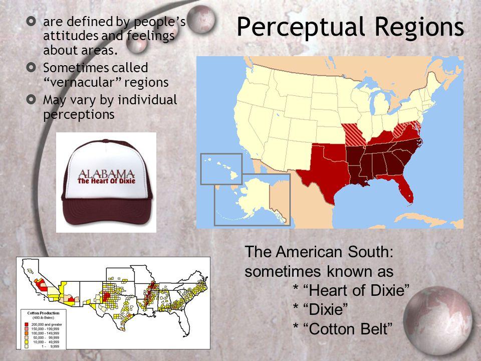 Perceptual Regions: The Upper Midwest