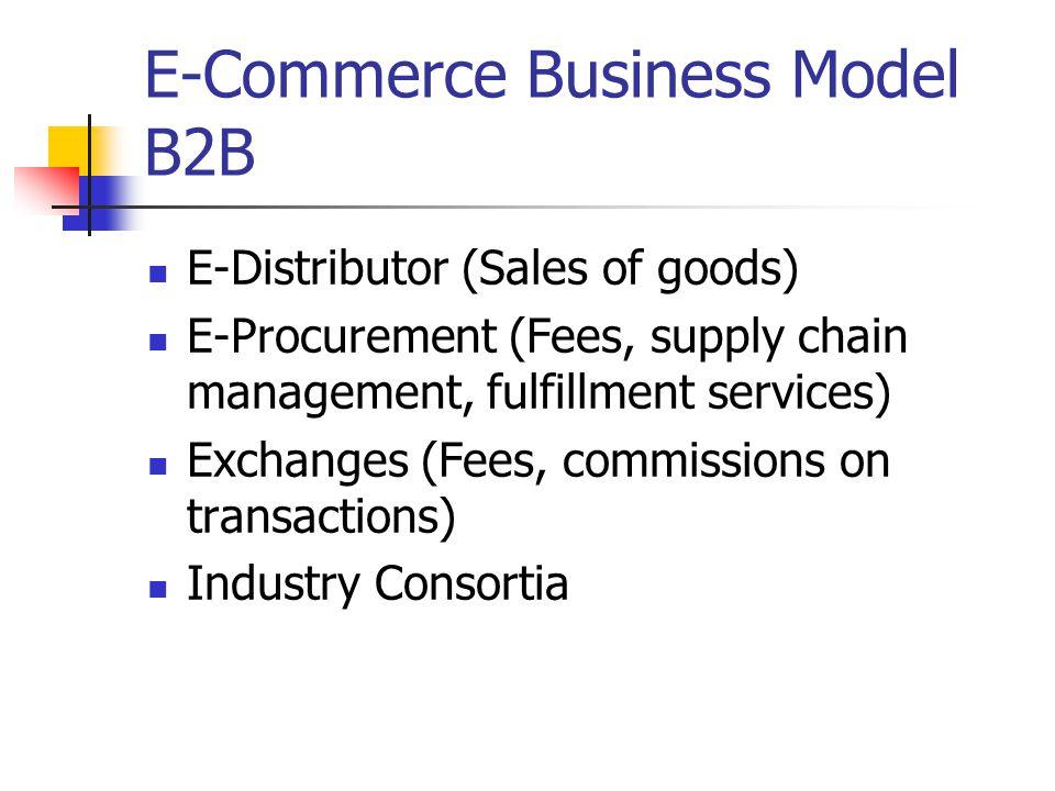 Emerging E-Commerce Business Models C2C: eBay P2P: Kazaa M-commerce (mobile commerce), uses wireless E-commerce enablers