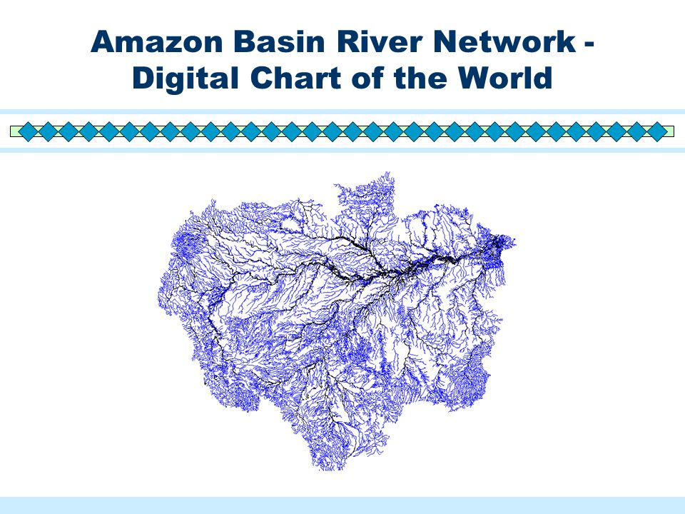 Amazon Basin River Network - Digital Chart of the World