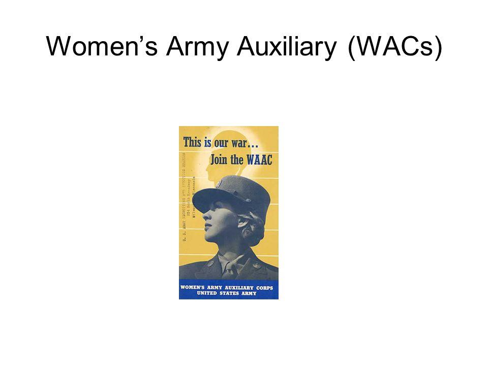 Women's Army Auxiliary (WACs)