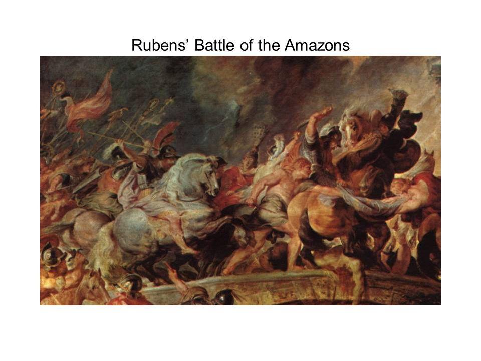 Rubens' Battle of the Amazons