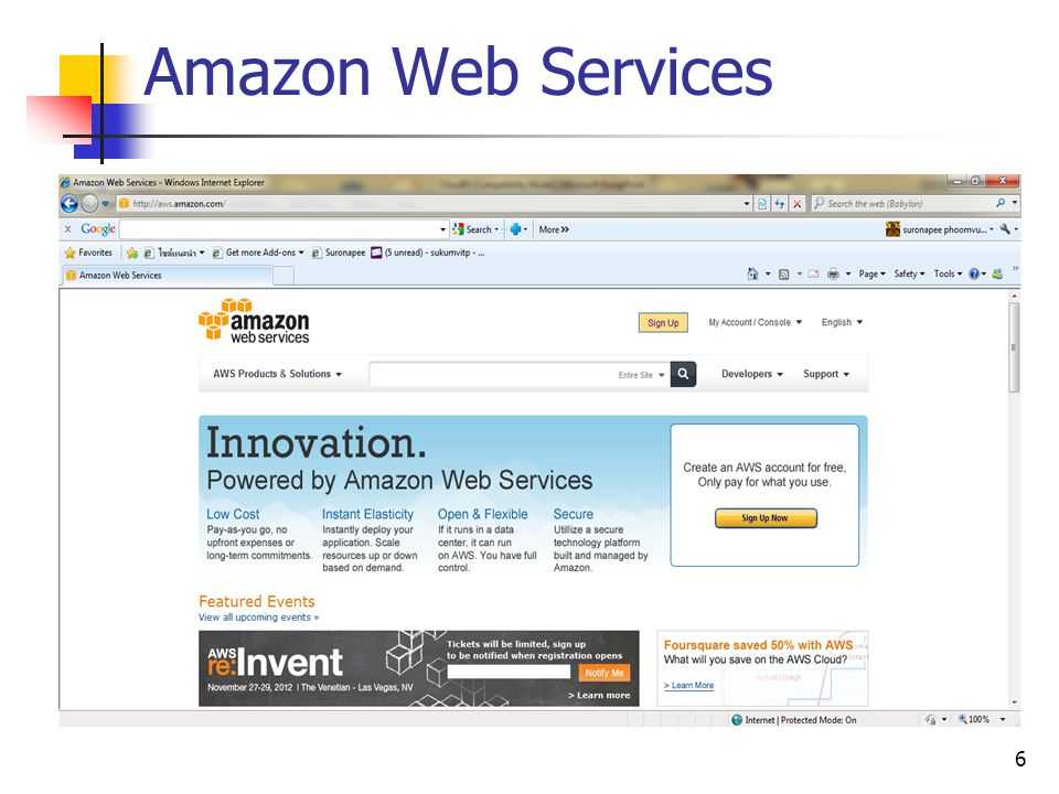 Amazon Web Services 6