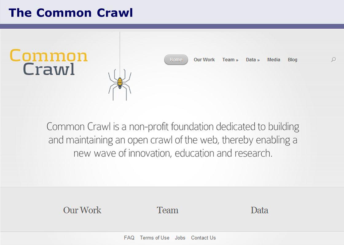 Slide 2 The Common Crawl