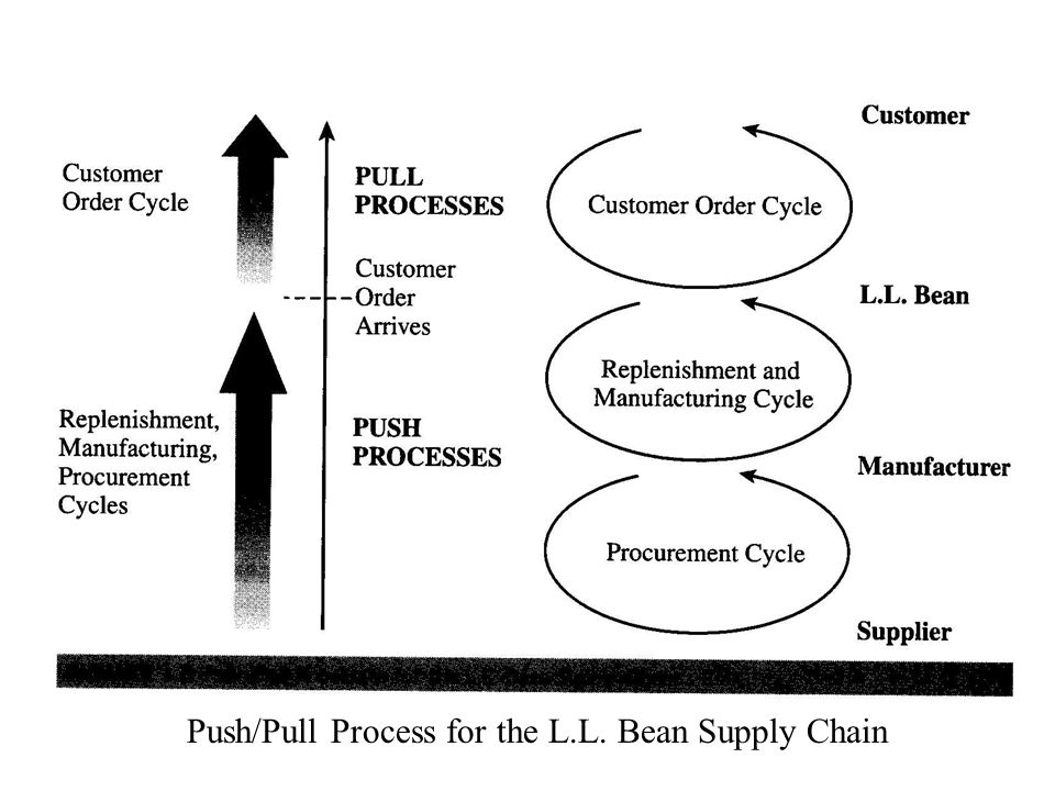 Push/Pull Process for the L.L. Bean Supply Chain