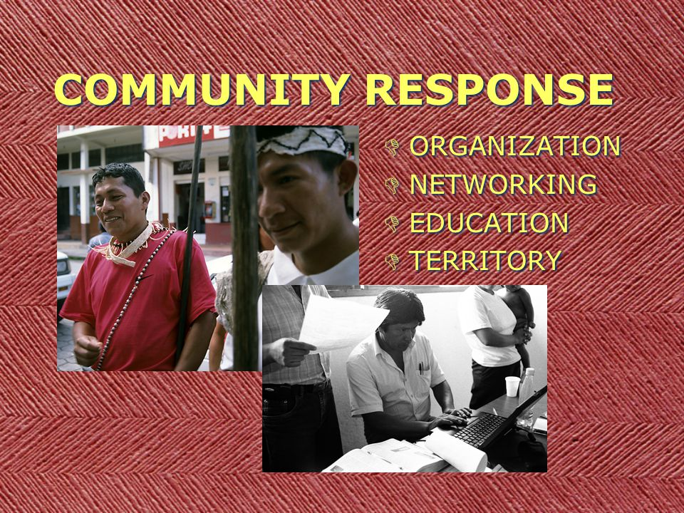 COMMUNITY RESPONSE DORGANIZATION DNETWORKING DEDUCATION DTERRITORY DORGANIZATION DNETWORKING DEDUCATION DTERRITORY