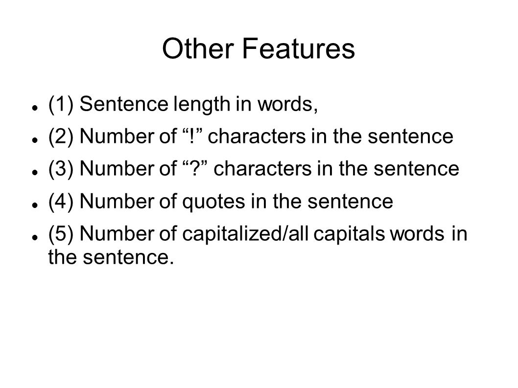 Data Enrichment Assumption: Sentences near a sarcastic sentence are similarly sarcastic Using the seed set for the Amazon data, perform a yahoo search for text snippets containing the seeds.