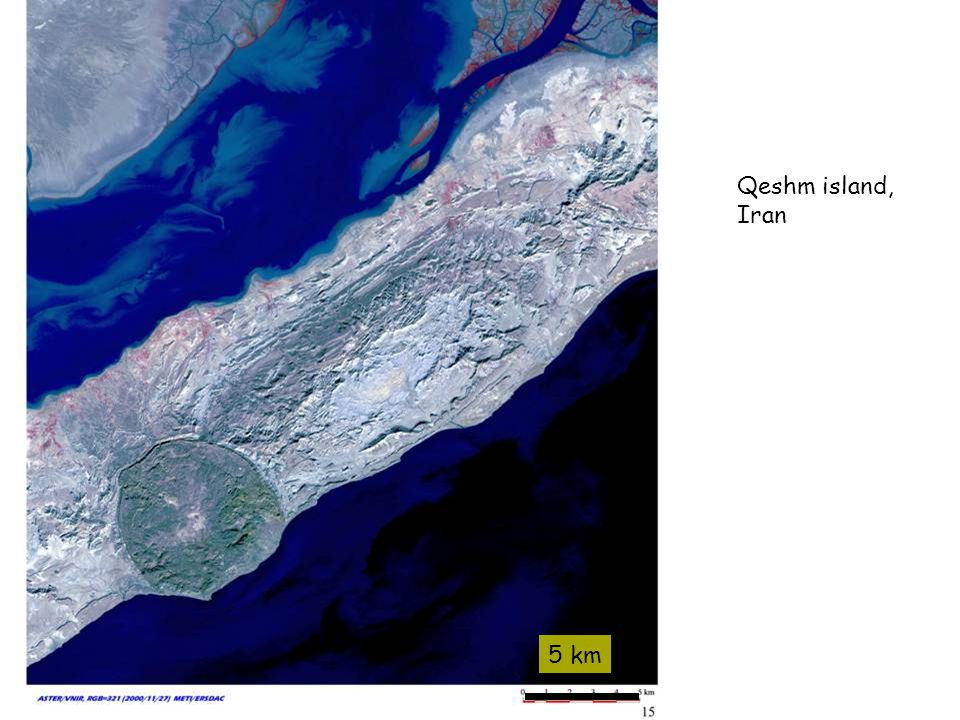 Qeshm island, Iran 5 km