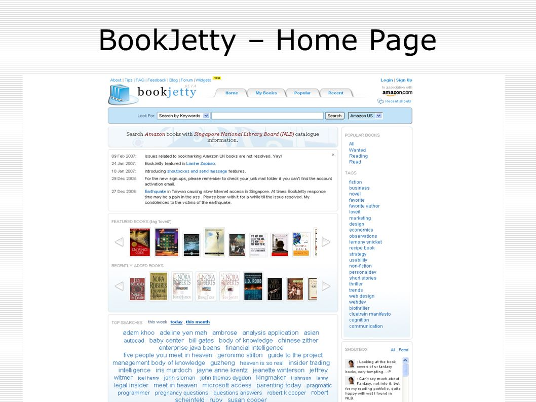 BookJetty – Home Page