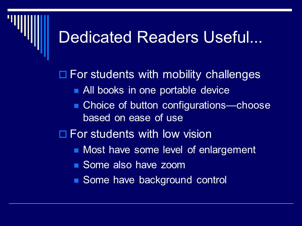 Dedicated Readers Useful...