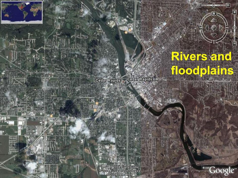 Rivers and floodplains