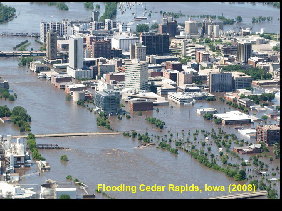 Flooding Cedar Rapids, Iowa (2008)