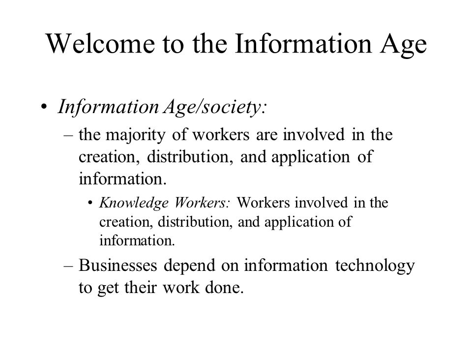 Information technology provides the means to rethink/recreate/reengineer conventional business processes.