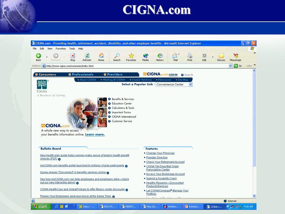 CIGNA.com