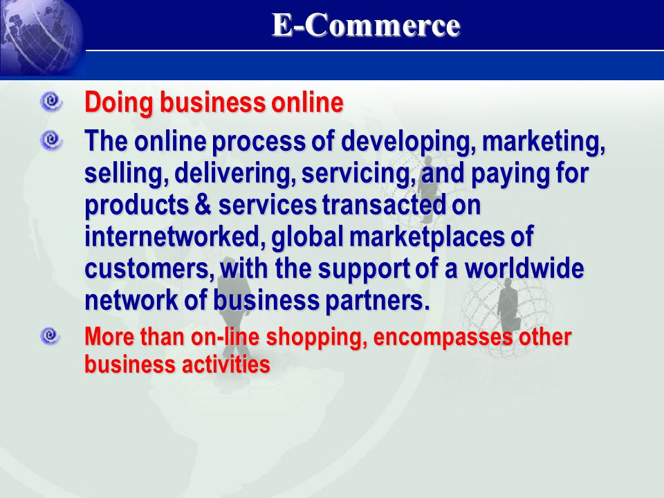 The use of nearly any information technologies or systems to support the business.