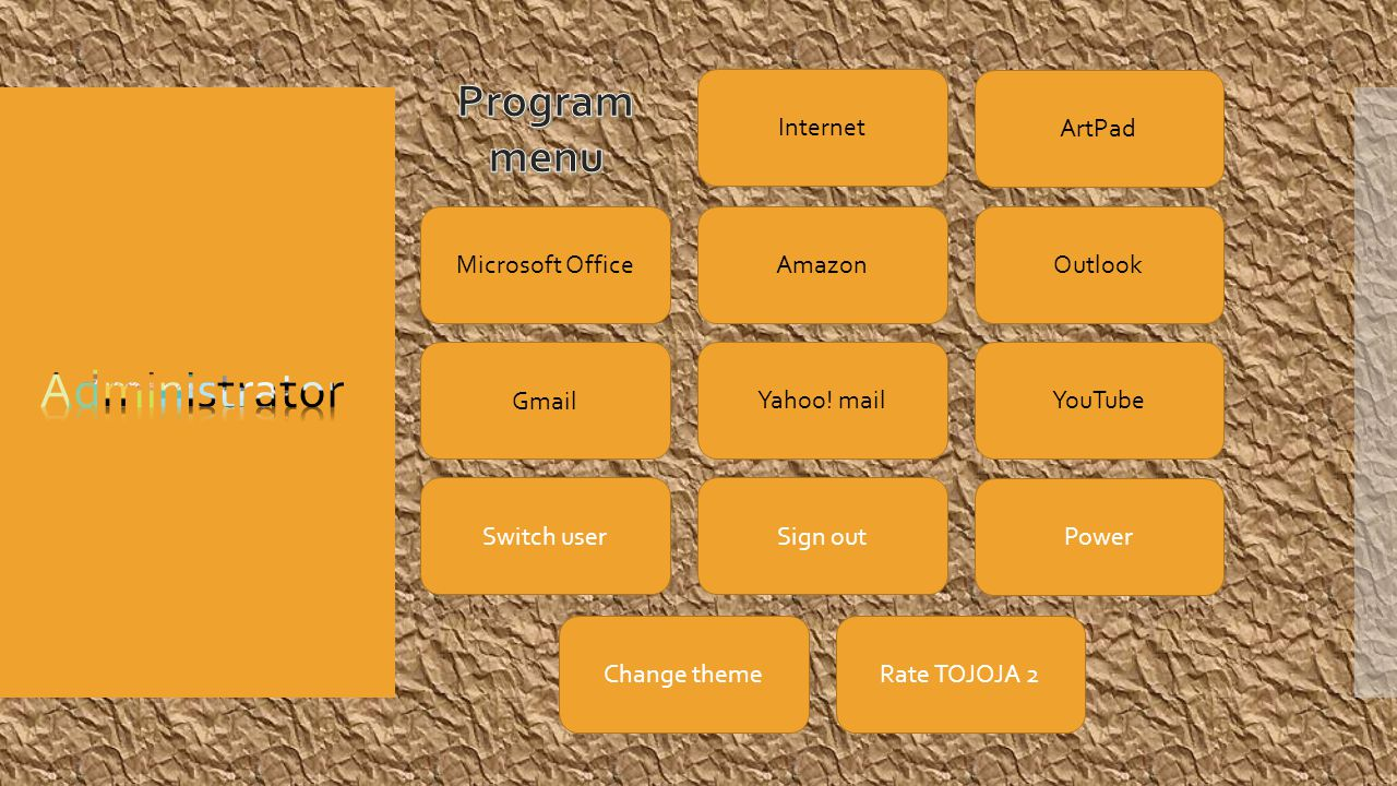 Internet ArtPad Microsoft OfficeAmazon Outlook Gmail Yahoo.