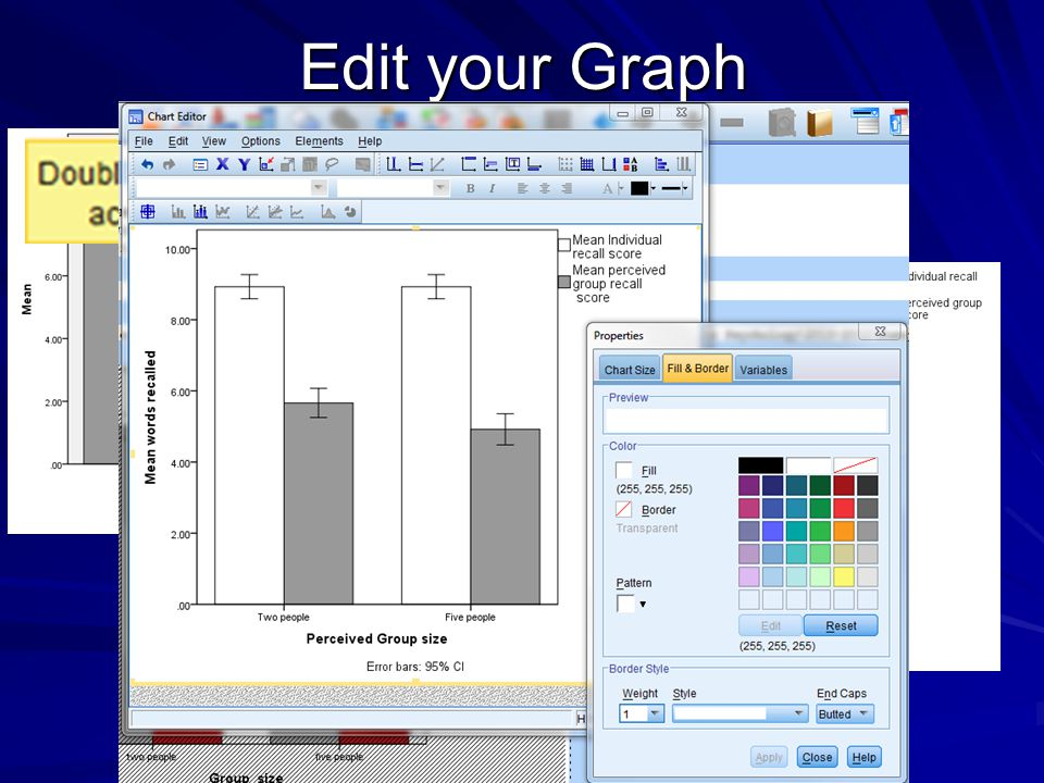 Edit your Graph