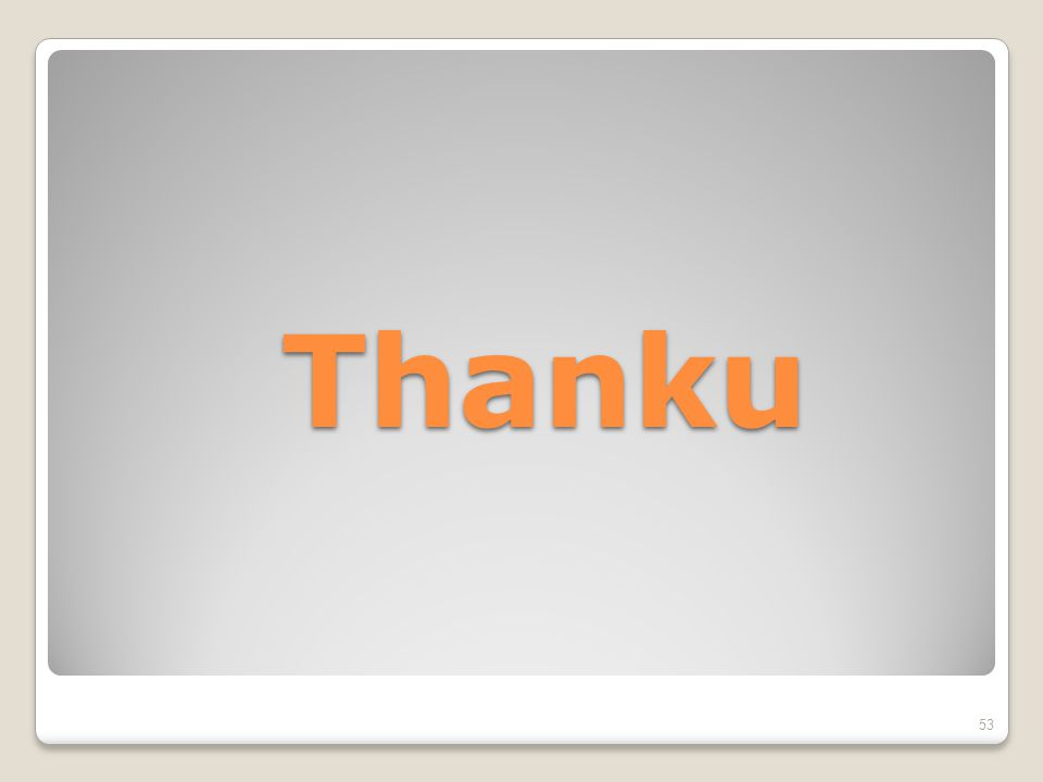 Thanku 53