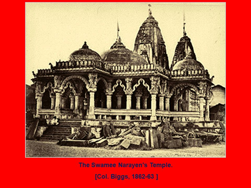 The Swamee Narayen s Temple. [Col. Biggs, 1862-63 ]