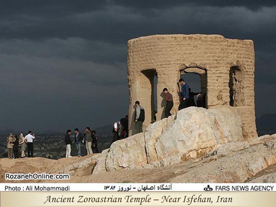 Ancient Zoroastrian Temple – Near Isfehan, Iran