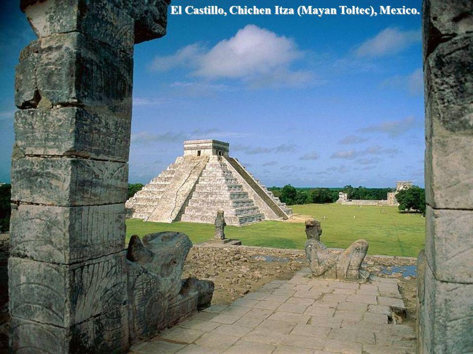 El Castillo, Tulum, Yucatan, Mexico.